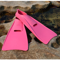 Long Blade Swim Fins Pink