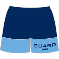 Lifeguard Unisex Micromesh Long Leg Shorts