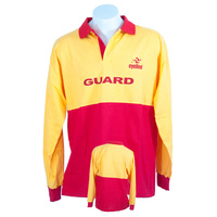Lifeguard Unisex Cotton Long Sleeve Polo