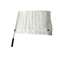 Football Goal Umpire Flags with Grip