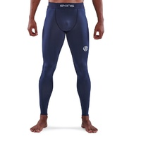 SKINS SERIES-1 Men's Long Tights Navy Blue