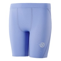 SKINS SERIES-1 Youth Half Tights Sky Blue