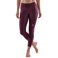SKINS SERIES-3 Women's 7/8 Tights Burgundy