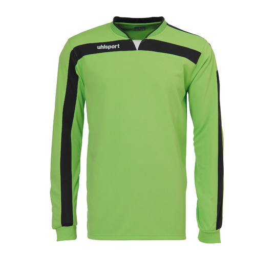 Liga Goalkeeper Shirt Green Flash/Black S