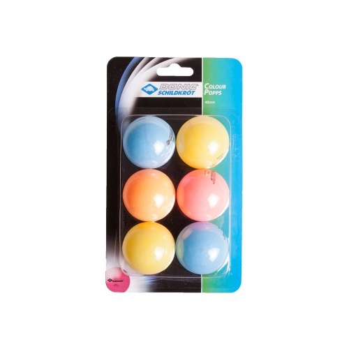 Colour Mix Popps 40mm Mixed 12 Pack